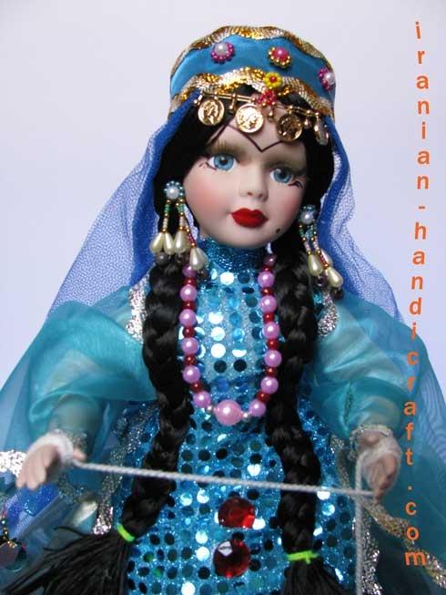 نقاشی لباس عروسک